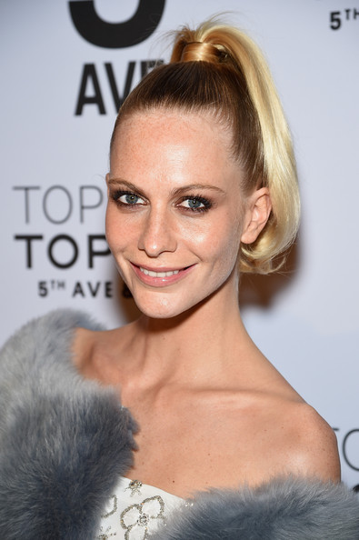 Poppy Delevingne High Ponytail
