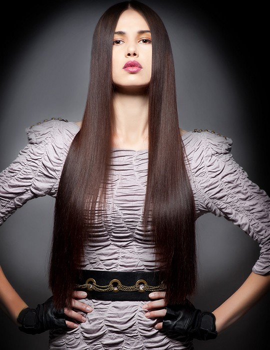 Pretty Long Hair for Brunette Hair