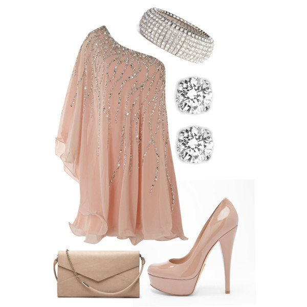 Pretty Outfit Idea for Holiday