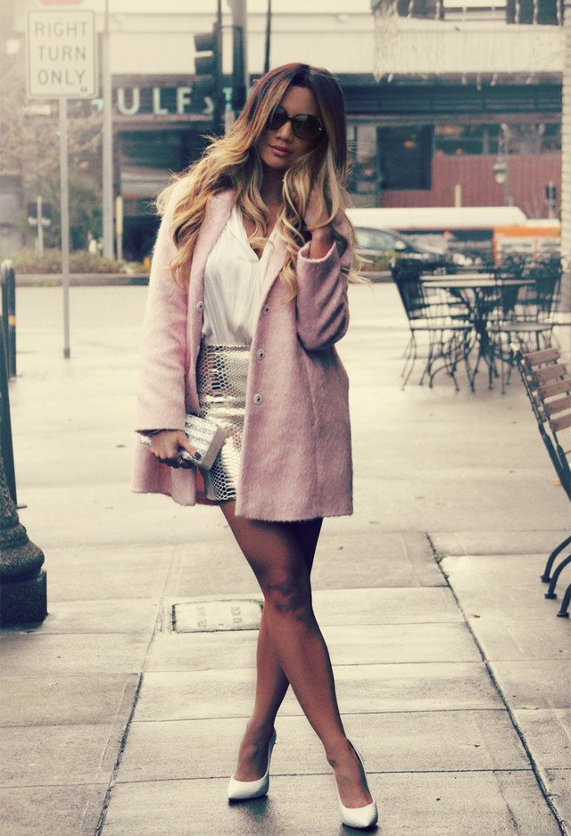 Pretty Pink Coat Outfit for 2015