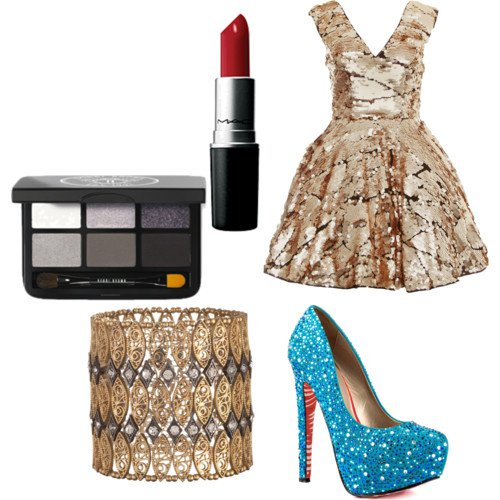 Pretty Polyvore Outfit for Holiday