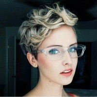 Pretty Short Curly Hairstyle