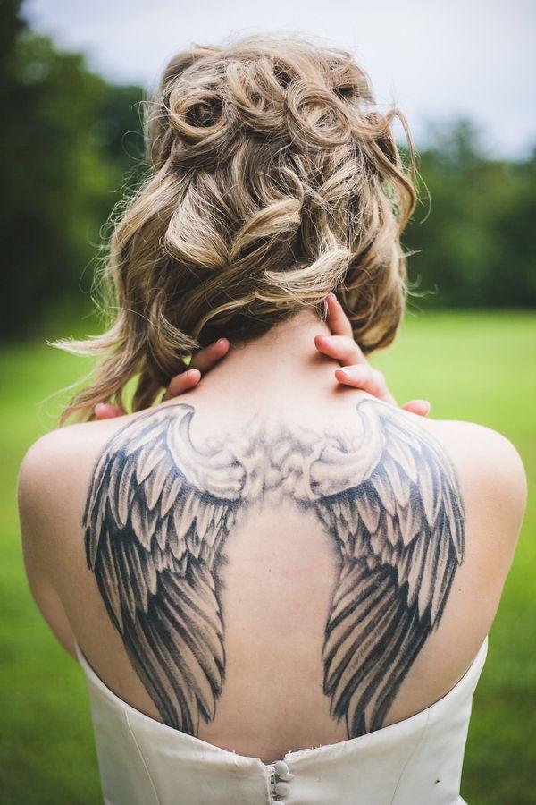 Pretty Wings on Back