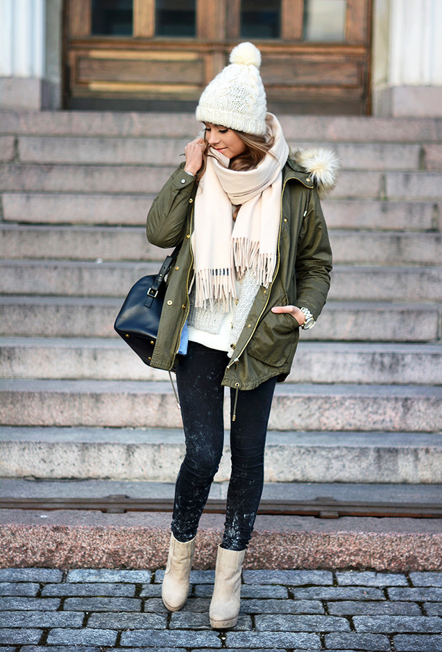 Street Style Outfit Idea for Winter 2015 - Pretty Designs