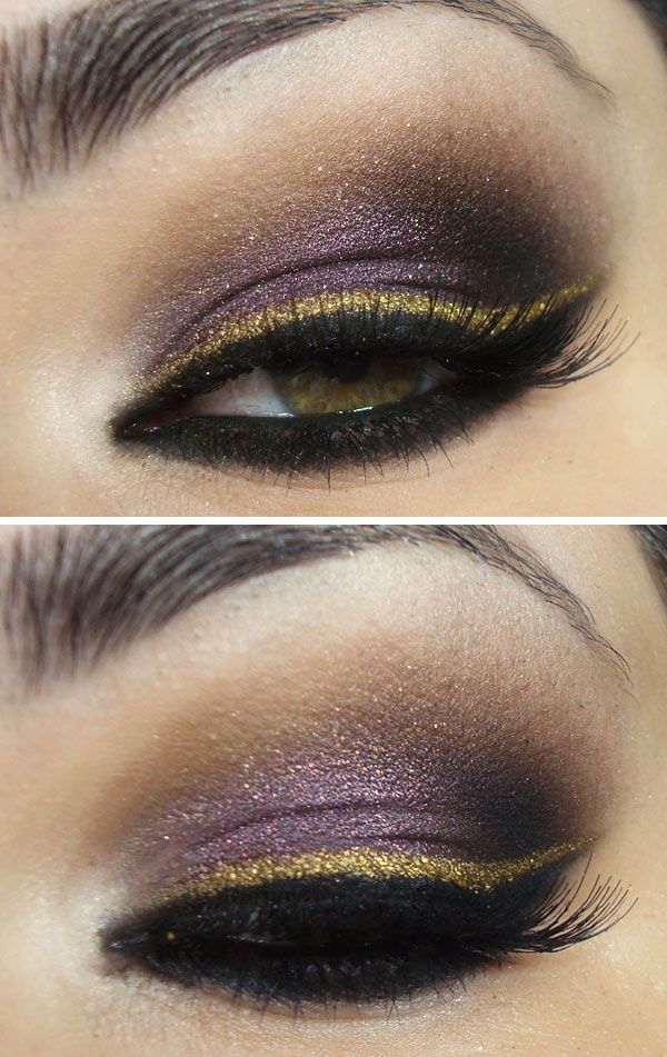 Purple Eyeshadow Tutorial: 10 Cool Tone Makeup Ideas For Winter