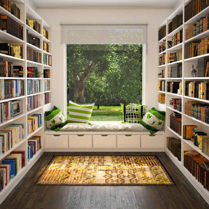 Home Decorating Reading Room Designs Pretty Designs