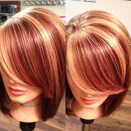 Tremendous 17 Latest Hair Color Trends For 2015 Pretty Designs Short Hairstyles Gunalazisus