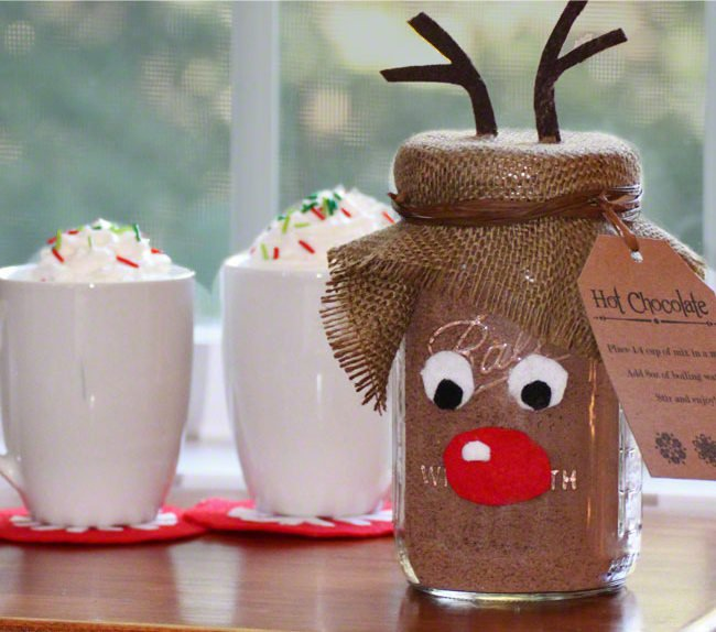 Christmas Diy Ideas Recycle The Mason Jars At Home Pretty Designs