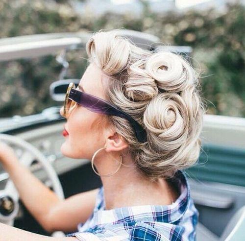 20 elegante Retro-Frisuren 2019 - Vintage-Frisuren für Frauen