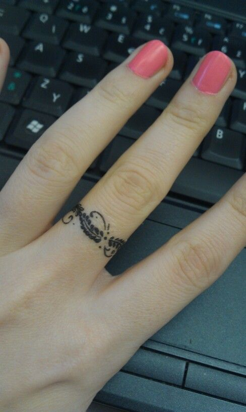 Ring-like Tattoo