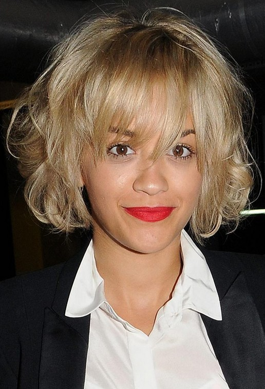 Short blonde celebrity hairstyles 2019