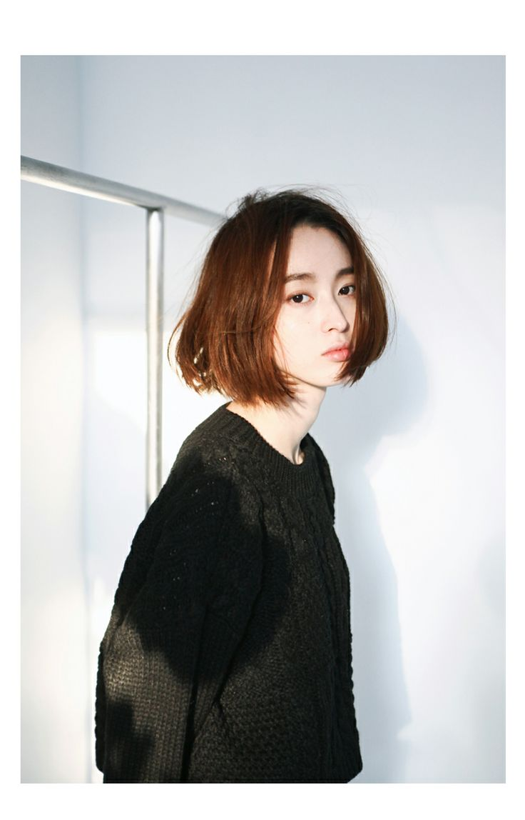 Short Asian Bob Hairstyle