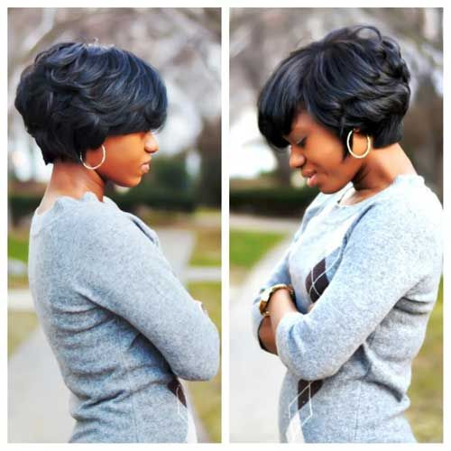 Surprising 13 Fabulous Short Bob Hairstyles For Black Women Pretty Designs Hairstyle Inspiration Daily Dogsangcom