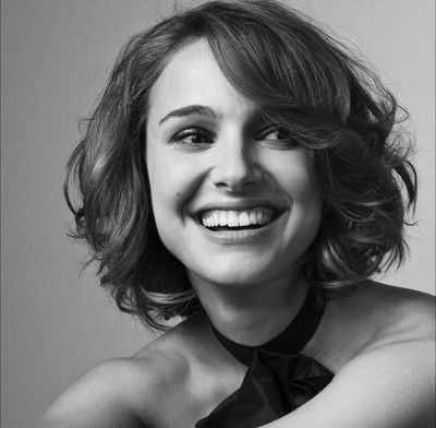 Short Curly Bob for Natalie Portman Hairstyles