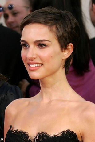Short Pixie Cut for Natalie Portman Hairstyles
