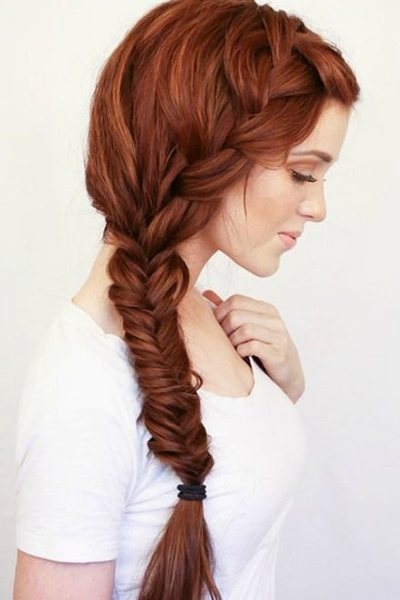 16 glamorous french braid hairstyles for 2015 pretty designs side french braid ccuart Images