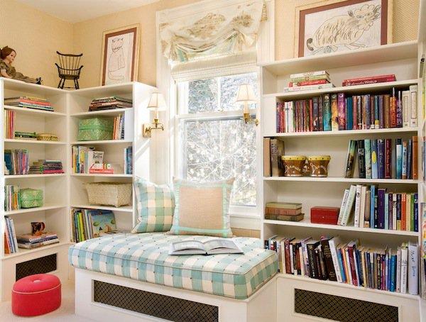 Home decorating reading room designs pretty designs for Design reading room