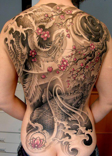 Stunning Japanese Tattoo Design