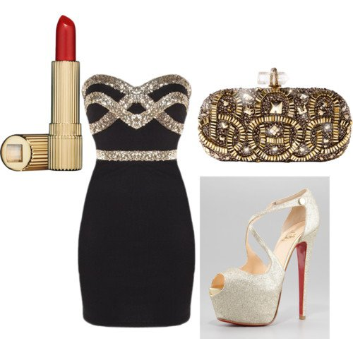 Stunning Polyvore Outfit for Holiday