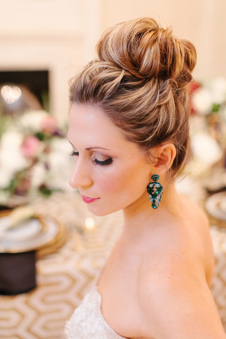Stunning Wedding Updo Hairstyle