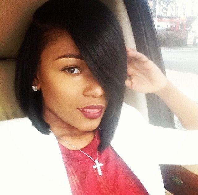 Enjoyable 13 Fabulous Short Bob Hairstyles For Black Women Pretty Designs Hairstyles For Women Draintrainus