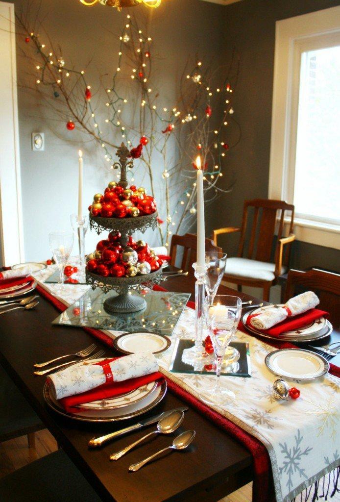 Stylish Christmas Table