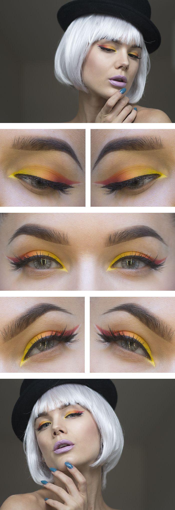 Stylish Ombre Eyeliner