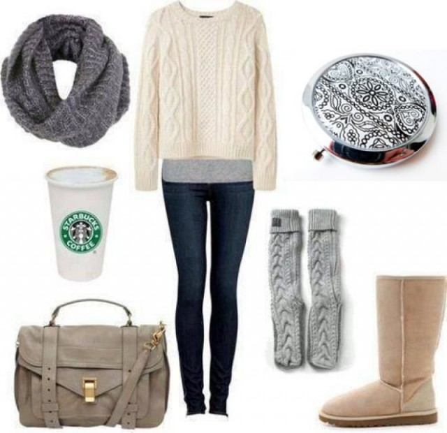 Sweater Outfit Idea for Winter