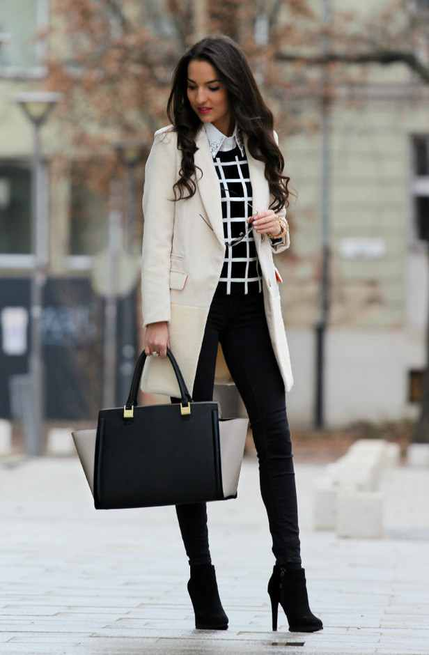18 Stylish Office Outfit Ideas For Winter 2018 Pretty Designs