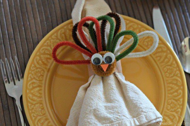 Turkey Napkin Rings