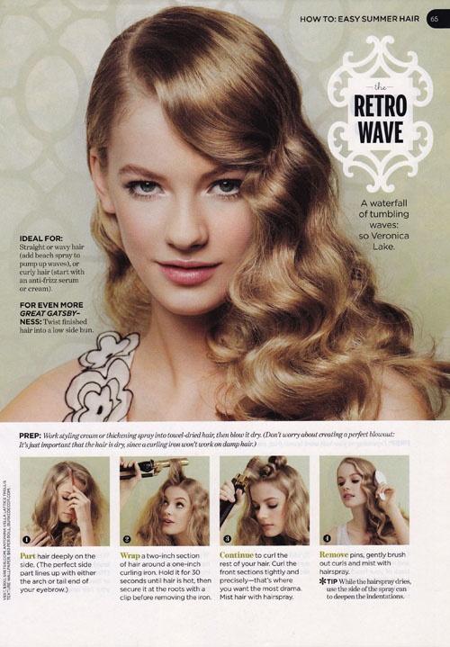 Pleasing 20 Stylish Retro Wavy Hairstyle Tutorials And Hair Looks Pretty Short Hairstyles Gunalazisus