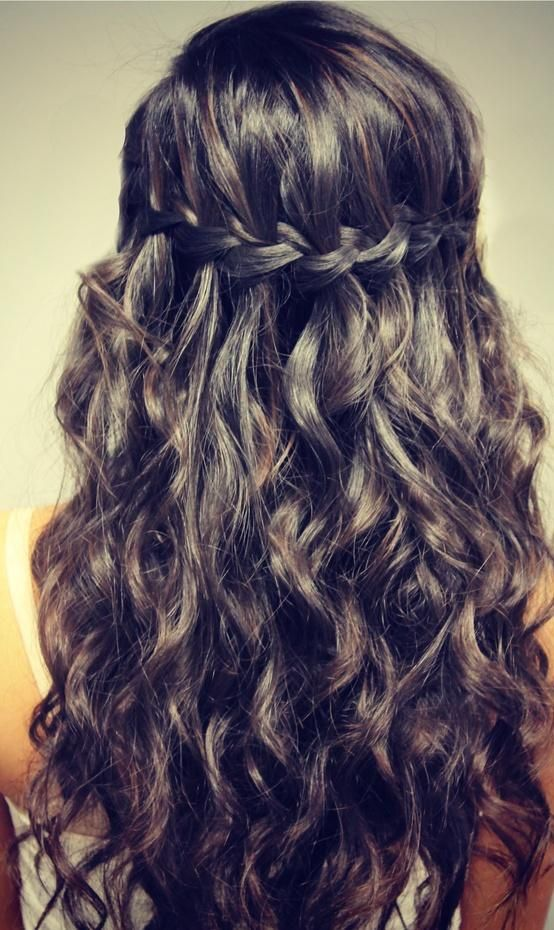 14 Stunning Waterfall French Braids For Girls Pretty Designs