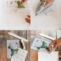 Wax Paper Wedding Invitations