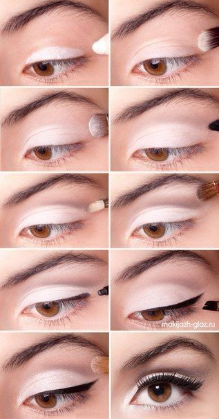 White Eye Shadow