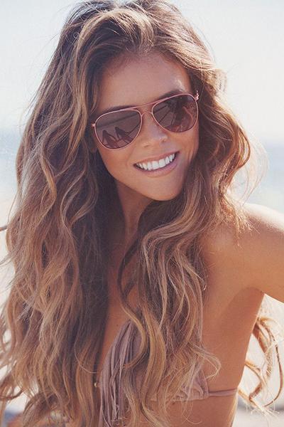 Http Www Prettydesigns Com 16 Glamorous Beachy Wavy Hairstyles