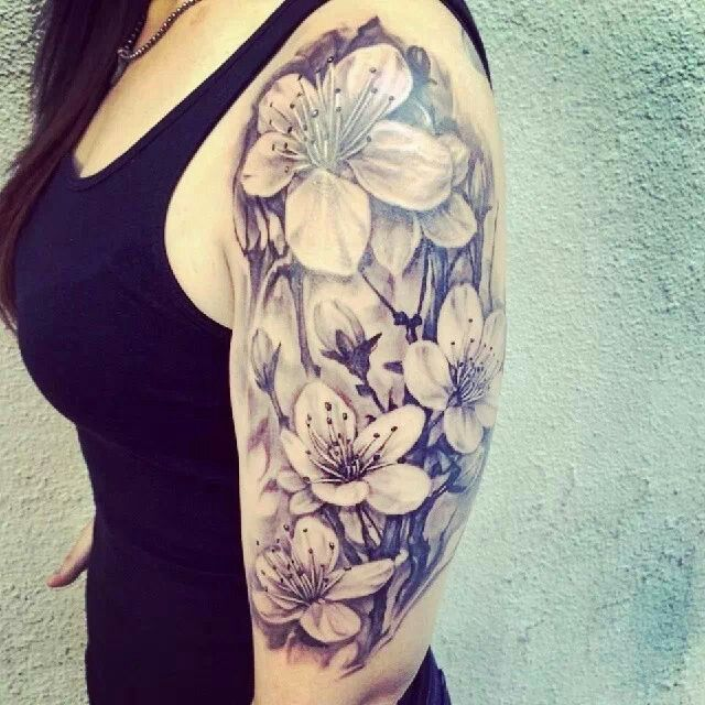 10 best flower tattoos for your arms pretty designs beautiful half sleeve tattoo mightylinksfo