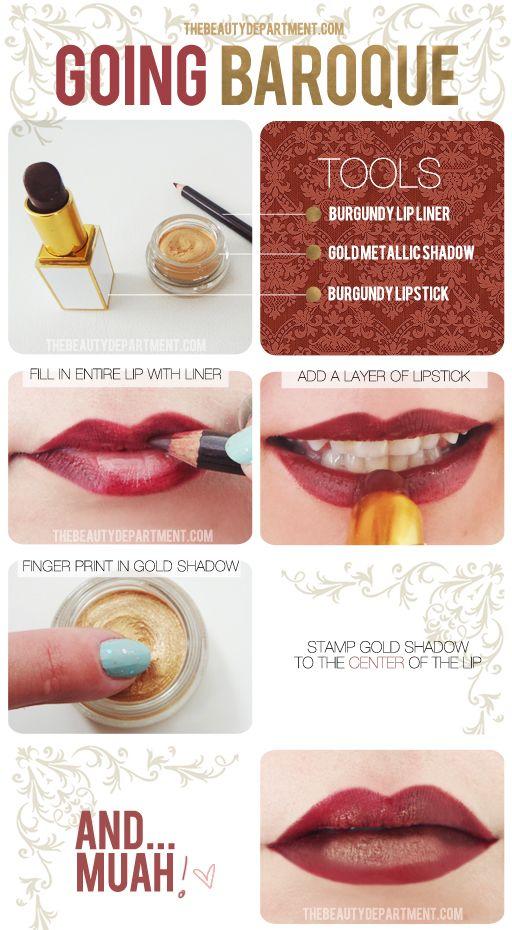 Beautiful Winter Lips