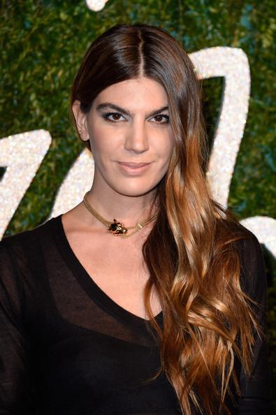 Bianca Brandolini Ombre Hair