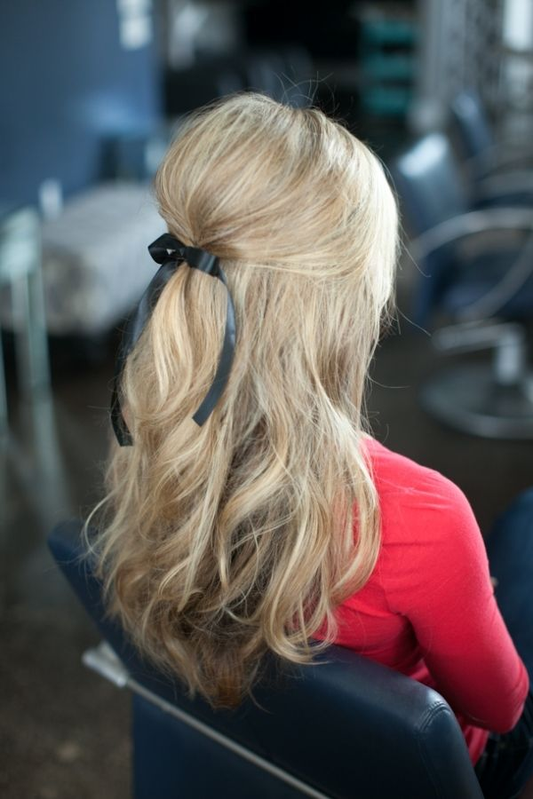 12 Pretty Hairstyles With Ribbons