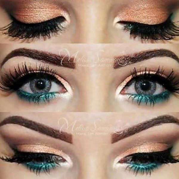 10 Ways to Make Your Eyes Pop - Pretty Designs