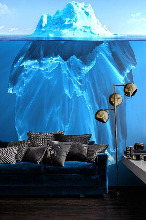 Blue Sea Wall Art