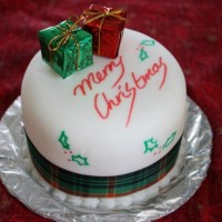Christmas Cake Idea-Gifts