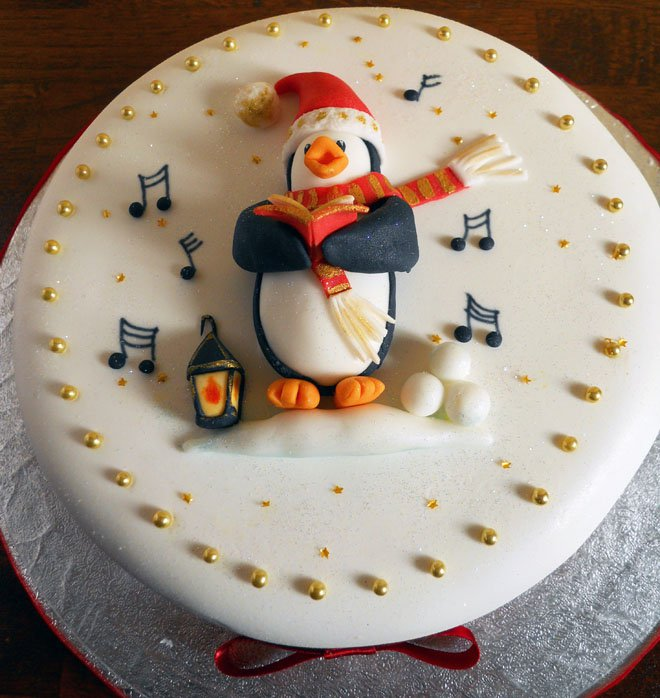 Christmas Cake Idea-Music