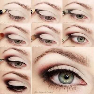 Crease Cut Eye Makeup