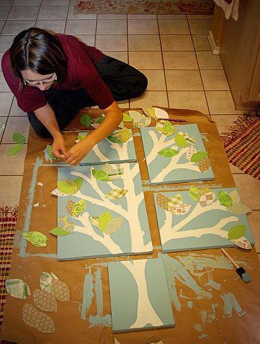 Diy Wall Art For Nursery : Ideas for new year s wall art pretty designs