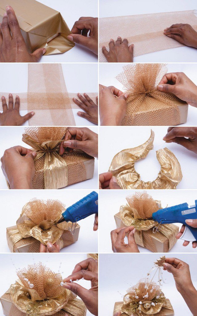 how to wrap your gifts for christmas pretty designs