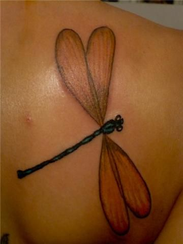 Pretty Dragonfly Tattoo Designs for Girls - Pretty Designs