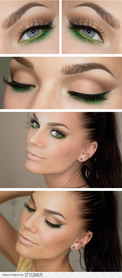 Green Bottom Eyeliner