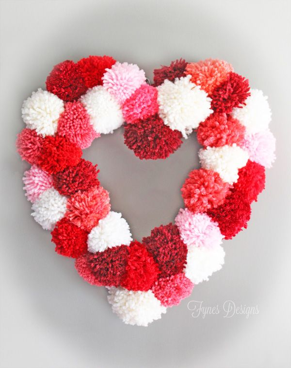 Diy Pom Pom Garlands For Christmas Pretty Designs