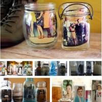 Jar Photo Frame